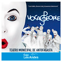 Voca People Teatro Municipal de Antofagasta - Antofagasta