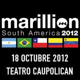 Marillion Teatro Caupolicán - Santiago