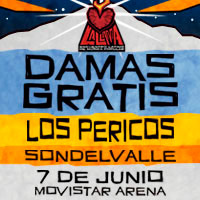 Festival La LLama Movistar Arena - Santiago