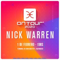 On Tour 2020: Nick Warren Nuevo Terminal de Cruceros VTP - Valparaíso