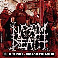 Napalm Death Kmasu Premiere - Santiago