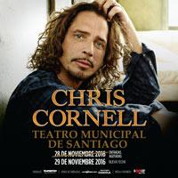 Chris Cornell Teatro Municipal de Santiago - Santiago