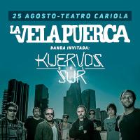 La Vela Puerca Teatro Cariola - Santiago
