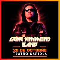 Gene Simmons Teatro Cariola - Santiago