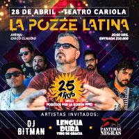La Pozze Latina Teatro Cariola - Santiago