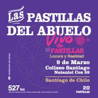 Las Pastillas del Abuelo Teatro Coliseo - Santiago