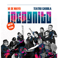 Incognito Teatro Cariola - Santiago