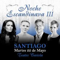 Noche Escandinava de Tarja Turunen Teatro Cariola - Santiago