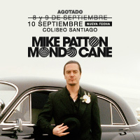 Mike Patton Teatro Coliseo - Santiago