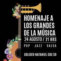 Homenaje a los Grandes de la Música Teatro Coliseo - Santiago