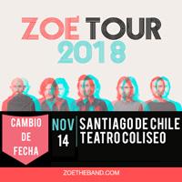 Zoé Teatro Coliseo - Santiago