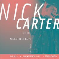 Nick Carter Teatro Cariola - Santiago