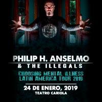 Philip H. Anselmo & The Illegals Teatro Cariola - Santiago