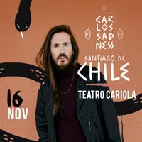 Carlos Sadness Teatro Cariola - Santiago