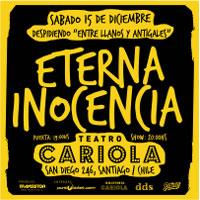 Eterna Inocencia Teatro Cariola - Santiago