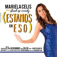 Mariela Celis Teatro Cariola - Santiago