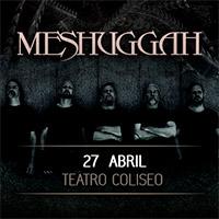 Meshuggah Teatro Coliseo - Santiago