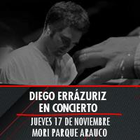Diego Errazuriz en Concierto Mori Parque Arauco - Las Condes