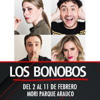 Los Bonobos Teatro Mori Parque Arauco - Las Condes
