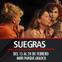 Suegras Teatro Mori Parque Arauco - Las Condes