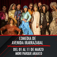Comedia de Avenida Irarrazabal Teatro Mori Parque Arauco - Las Condes