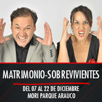 Matrimonio-Sobrevivientes Mori Parque Arauco - Las Condes