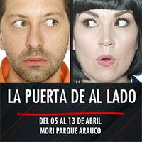 La puerta de al lado Teatro Mori Parque Arauco - Las Condes