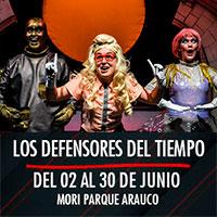 Los defensores del tiempo Mori Parque Arauco - Las Condes