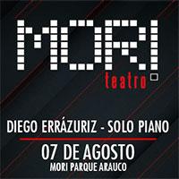 Diego Errázuriz - Solo Piano Mori Parque Arauco - Las Condes