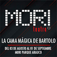 La cama mágica de Bartolo Mori Parque Arauco - Las Condes