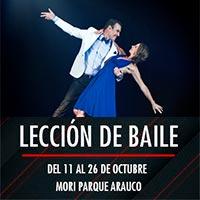 Lección de baile Mori Parque Arauco - Las Condes