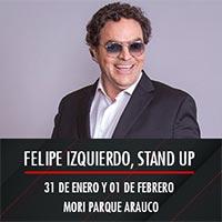 Felipe Izquierdo, Stand up Mori Parque Arauco - Las Condes