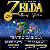 Zelda Teatro Cariola - Santiago