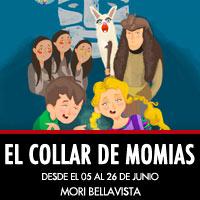 El Collar de Momias Mori Bellavista - Providencia
