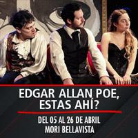 Edgar Allan Poe, estas ahí? Mori Bellavista - Constitución 183 - Providencia