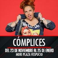 Cómplices Teatro Mori Plaza Vespucio - La Florida