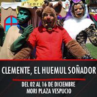 Clemente, el huemul soñador Teatro Mori Plaza Vespucio - La Florida