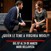 ¿Quién le teme a Virginia Woolf? Mori Bellavista - Constitución 183 - Providencia