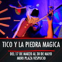 Tico y la piedra magica Mori Plaza Vespucio - La Florida