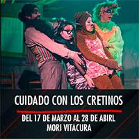 Cuidado con los cretinos Mori Vitacura - Av. Bicentenario 3800 - Vitacura