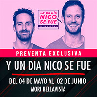 Y un dia Nico se fue Mori Bellavista - Constitución 183 - Providencia