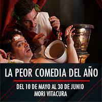 La peor comedia del año Mori Vitacura - Av. Bicentenario 3800 - Vitacura