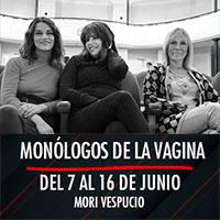 Monólogos de la vagina Mori Plaza Vespucio - La Florida