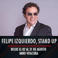 Felipe Izquierdo, stand up Mori Vitacura - Vitacura