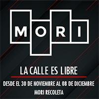 La calle es libre Mori Recoleta - Recoleta