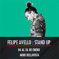 Felipe Avello, stand up Mori Bellavista - Providencia