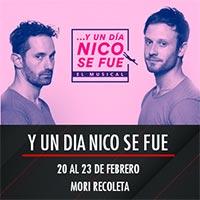 Y un dia Nico se fue Mori Recoleta - Recoleta