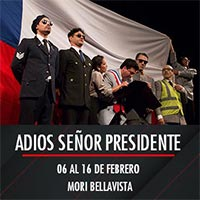 Adios señor presidente Mori Bellavista - Providencia