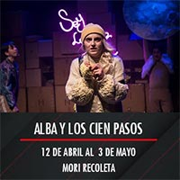 Alba y los cien pasos Mori Recoleta - Recoleta