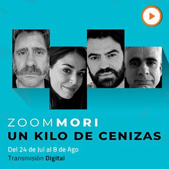 Un kilo de cenizas - de Boris Quercia Mori Virtual - Santiago